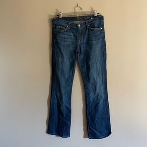 7 for all mankind | Boot Cut Mid Rise Jeans